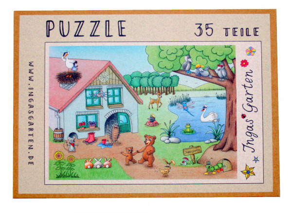 Puzzle - 35, 120 oder 250 Teile